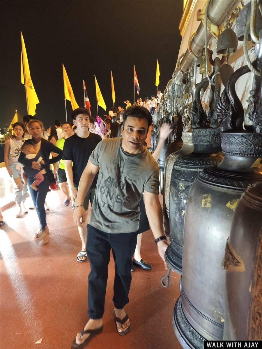 Walking in Wat Saket (Phukhao Thong / The Golden Mount) Temple : Bangkok, Thailand (Nov'19) 5