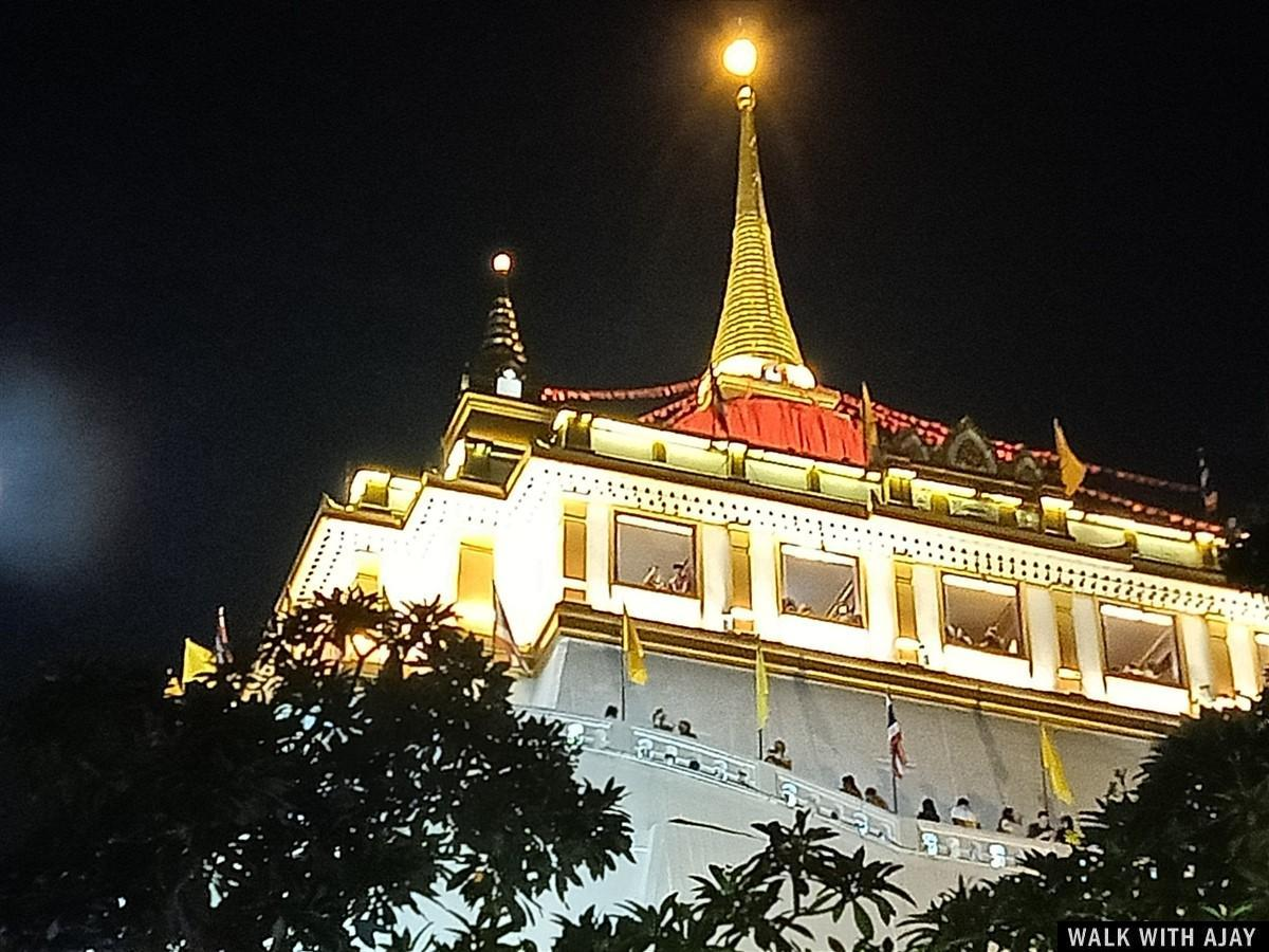 Walking in Wat Saket (Phukhao Thong / The Golden Mount) Temple : Bangkok, Thailand (Nov'19) 18