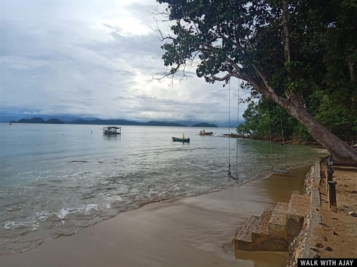 Walking Tour in Phayamas Private Beach Resort : Koh Phayam Island, Thailand (Jul'20) 10